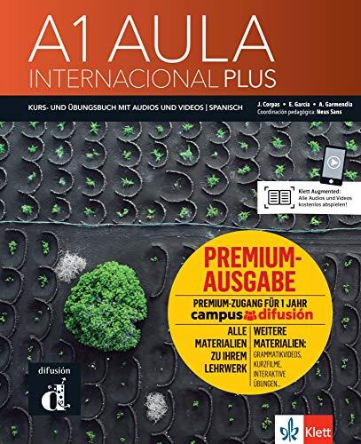 Aula internacional Plus A1 Premium - deutsche Ausgabe: Kurs- und Übungsbuch + Audios und Videos online + Premium (dt. Ausgabe)