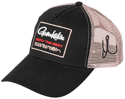 Gamakatsu Trucker Mesh Cap - Angelcap für Raubfischangler, Anglercap, Cappy für Angler, Schirmmütze, Basecap, Truckercap