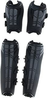 Horse Pony Open Front Jumping Boots, Tendon & Fetlock Boots Set - Breathable, Lightweight & Impact-Absorbing Wrap