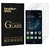 iVoler [3 Pack] Pellicola Vetro Temperato per Huawei P9 Lite, Pellicola Protettiva, Protezione per Schermo
