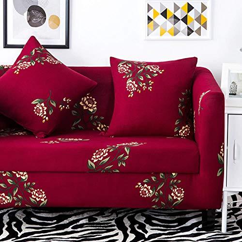1 protector elástico para muebles,Funda de sofá elástica con patrón impreso, funda de cojín universal para todas las estaciones, funda de sillón antiincrustante para sala de estar, funda de protecció