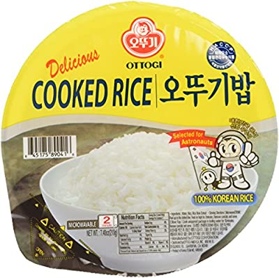 Ottogi Fresh Cooked White Rice, 7.40 Ounces