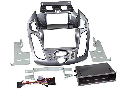 ACV Adaptateur de façade 2-DIN pour Inbay pour Ford Transit Connect 2013 > Gris Nebula