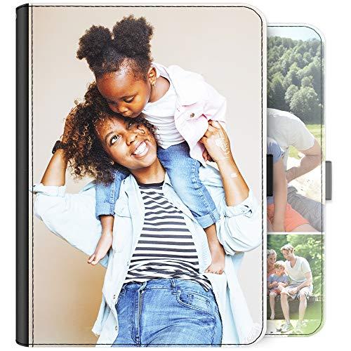 Personalisiert Universal Tablet Schutzhülle, Gestalte mit Foto, Universal Cover Tablet, Leder Seite Flip Folioformat Abdeckung mit 360 Drehbar Merkmal, Ständer Points