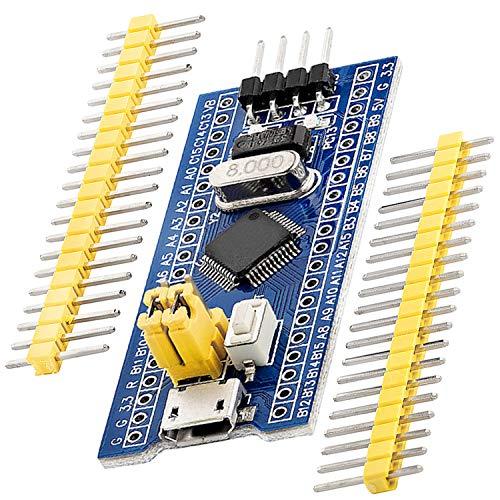 AZDelivery Blue Pill Mikrocontroller kompatibel mit STM32F103C8T6 Development Board Modul mit ARM Cortex M3 Prozessor inklusive E-Book!