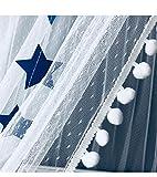 OldPAPA Moskitonetz, Betthimmel Deko Baldachin Moskitonetz Kinder Prinzessin Spielzelte Dekoration für Kinderzimmer, mit Sternen Dekoration 60 * 300cm (Blau) - 5