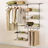 Rubbermaid Configurations Closet Kits, 3-6 ft., White