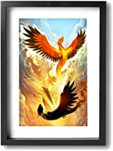 picture of a phoenix rising from the ashes
