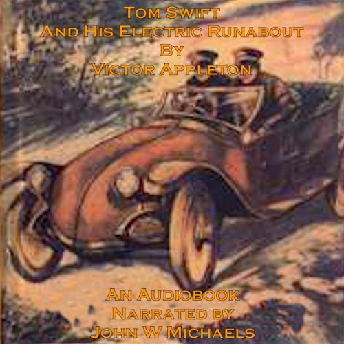 Tom Swift and His Electric Runabout audiobook cover art