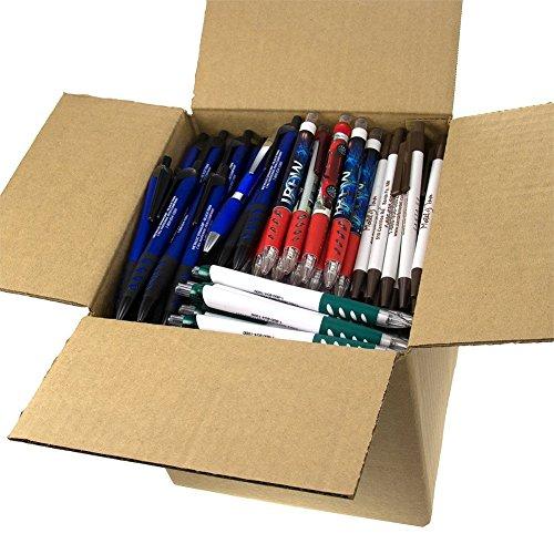 DG Collection (5lb Box Approx. 200-250 pens) Assorted Retractable Ballpoint Pens Office Ink Pen Supplies Big Bulk Lot