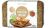 Body Attack Low Carb-Protein Bread, Eiweißbrot mit reduziertem Kohlenhydratanteil, für ein eiweißreiches Abendbrot (9x 250g)