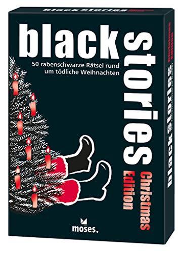 Harder, C: black stories Christmas Edition