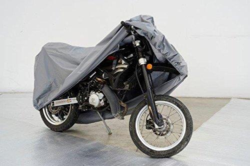 Bâche de protection pour moto - Étanche - Compatible avec Suzuki RV 125 Van Van-RV 200 - Van - Avec mallette