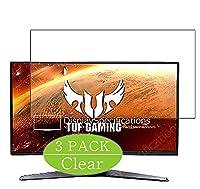 3枚 VacFun フィルム , Asus TUF Gaming VG27AQ1A 27インチ ディスプレイ モニター 向けの 保護フィルム 液晶保護 フィルム 保護フィルム(非 ガラスフィルム 強化ガラス ガラス ) 改善版