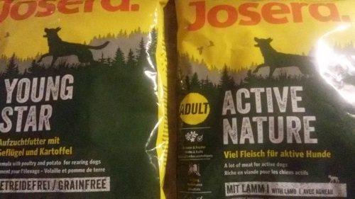 4 Proben Josera Hundefutter Active Nature