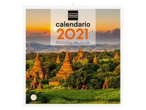 Calendarios Pared 2021 A4 Marca Finocam