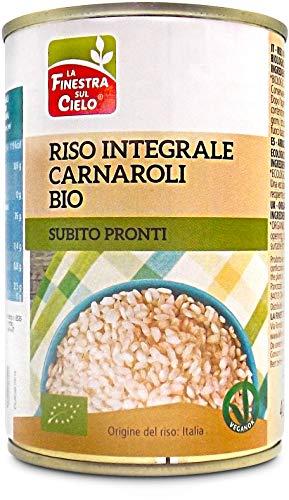 La Finestra Sul Cielo Riso Integrale Carnaroli in Lattina Bio - 400 g
