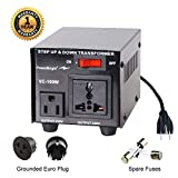 PowerBright Step Up & Down Transformer, Power ON/Off Switch, Can be Used in 120 Volt Countries and 100 Volt Countries, Convert from 120 Volt to 100 Volt and 100 Volt to 120 Volt