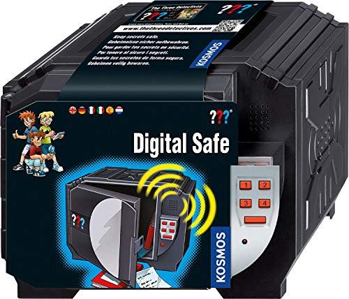 KOSMOS 665333 - Die drei ??? Digitaler Tresor, mehrsprachige Version (DE,  EN, FR, IT, ES, NL) Spielzeug, Detektiv-Ausstattung für Kinder