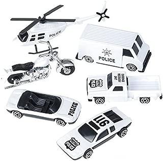 Oasis Supply Police & Highway Patrol Cake Topper Kit - 6 pcs