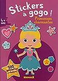 Stickers à gogo - Princesses charmantes (Fond rose)