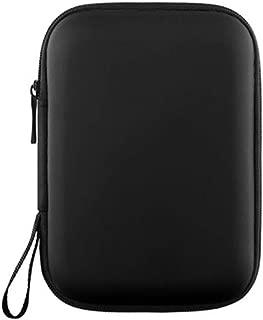 LGXJP Headphone Storage Box, Earphone Storage Bag, Mini Portable Bluetooth Headset Bag, Protective Case Exquisite craftsmanship, high quality sound (Color : Black)