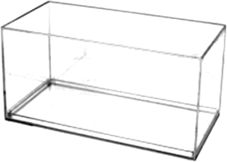 Pioneer Plastics - Vitrina de Coche Modelo Fundido a presión,, acrílico, Escala 1/32, con Almohadilla Adhesiva 3M, Borde rectángulo