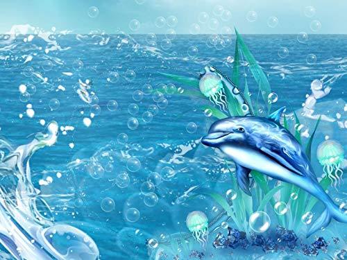 Puzzle 1000 Piezas Diy Rompecabezas De Madera Bubble Dolphin Ocio Creatividad Crucigrama El Juego Niño Rompecabezas Juguete Cumpleaños Festival Regalo Único