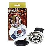 ohmtronixx Filtros de café permanentes recargables para cafeteras Senseo Quadrante HD7860 y Senseo Latte HD7850, HD7860, HD7825, HD7863, HD7825, HD7825, HD7825, HD7885