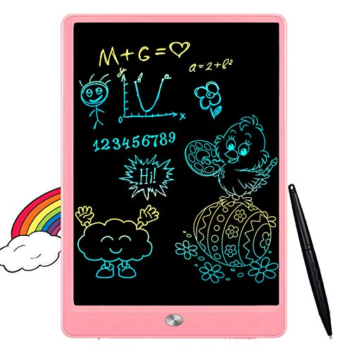 FLUESTON LCD Writing Tablet 10 Inch Drawing Pad, Colorful...