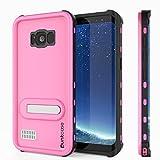 Galaxy S8 Plus Waterproof Case, Punkcase [KickStud...