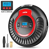 Air Compressor Oasser Portable Air Blower Tire Inflator Dual Pressure Display for Air