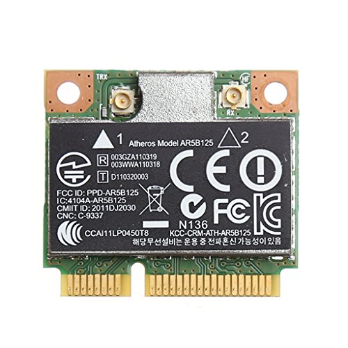 NAOTAI Nii WiFi Wireless PCI-E-Karte für Atheros AR5B125 SPS 675794-001 HP PN 670036-001