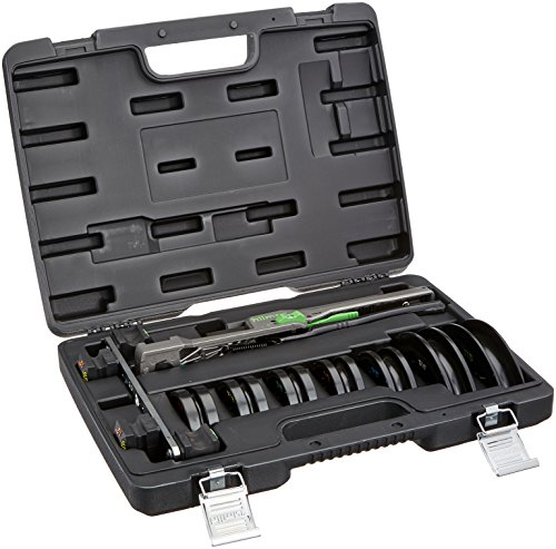 """Hilmor 1839032 CBK Compact Bender Kit, 1/4"""" To 7/8"""" - HVAC Tools and Equipment for Tube and Pipe Bending, Black"""