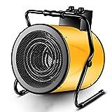 F-HEATER Les appareils de Chauffage 9000W Atelier d'économie d'énergie Petit Chauffage électrique Ventilateur Chauffage Speed Hot Chauffe-Tube,Jaune
