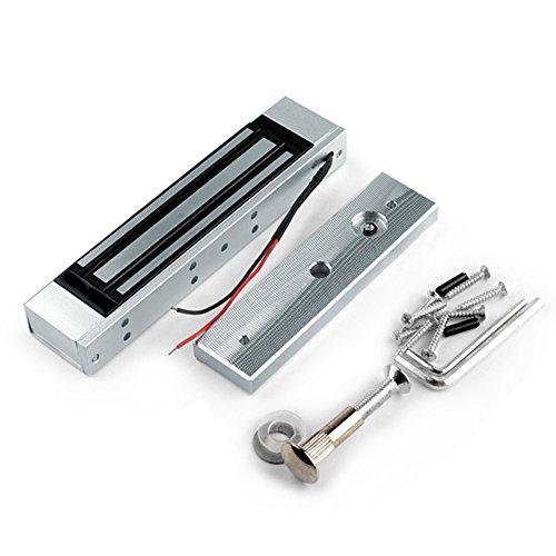 OBO HANDS 350lbs Cerradura Eléctrica Magnética de la Sola Puerta para el Sistema de Control de Acceso Elegante Modo NC de la Seguridad de la Falla