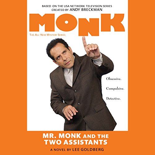 Mr. Monk and the Two Assistants audiobook cover art