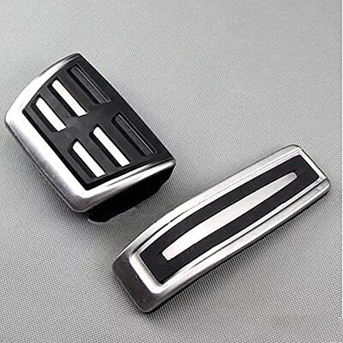 Cubierta de Almohadillas de Pedal de Coche de Acero Inoxidable para Pedal de Freno en el Estuche para Q7 SQ7 para VW Touareg Pedal Coveruseful