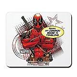 CafePress Deadpool My Common Sense Non-Slip Rubber Mousepad, Gaming Mouse Pad