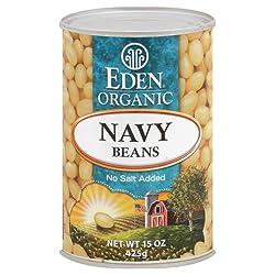 Eden Organic Navy Beans Can
