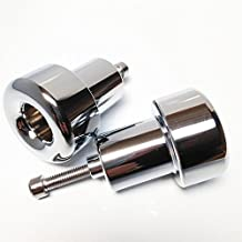 XKMT-Chromed No Cut Frame Slider Compatible With 98-02 Kawasaki Zx6R 1998-2003 Zx9R 2001-2004 Zx12R [B00YWCUDE0]