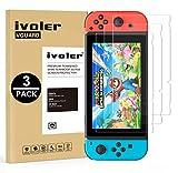 iVoler [3 Pack] Pellicola Vetro Temperato per Nintendo Switch [Garanzia a Vita], Pellicola Protettiva Protezione per Schermo per Nintendo Sw …