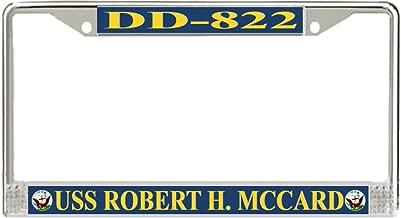 MilitaryBest USS Robert H. McCard DD-822 License Plate Frame