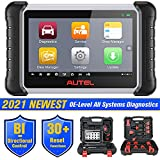 Autel MaxiPRO MP808K Automotive Diagnostic Scan Tool, 2021 Newest Upgraded Ver. of MP808, Same as MS906, Key Coding, Bi-Directional, All Systems Diagnostics, Auto VIN, Oil Reset,EPB, SAS, DPF, BMS