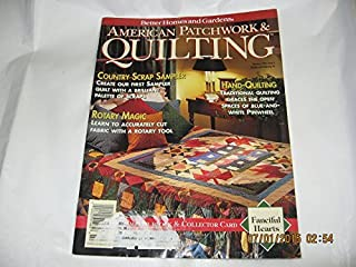 BETTER HOMES AND GARDENS AMERICAN PATCHWORK & QUILTING magazine February 1994 Issue 6 Volume 2 No. 5 (BH & G, Quilt, Quilter, Patterns, Designs, Country Scrap Sampler, Rotary Magic, Hand Quilting, Traditional Quilting, Rotary Cutting, Scrap Lover's Quilt)