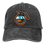 huatongxin Cafetera Bebida Caliente Dibujos Animados Negro Béisbol Gorras de Vaquero Sombreros de...