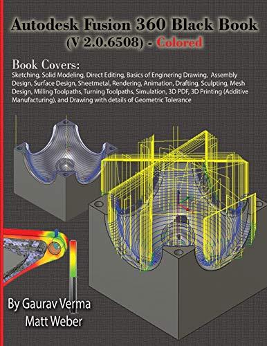 Autodesk Fusion 360 Black Book (V 2.0.6508) - Colored
