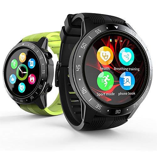 LOKMAT Smartwatch SMA-TK05 Schermo da 1,3 Pollici BT3,0 + 4,0 Pedometro Impermeabile Allarme frequenza cardiaca Telecamera remota GPS Sport Smartwatch per Android 4.4 / iOS 8.0 e Versioni successive