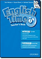 English Time 2/E Level 1 TB with test center & Onlin