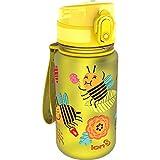 Ion8Kids 'Anti-fuites sans BPA Buzzy Bees Bouteille d'eau, Jaune, Taille 350ML